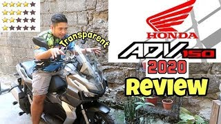 REVIEW OF HONDA ADV-150 2020 (WHAT CAN I SAY?)