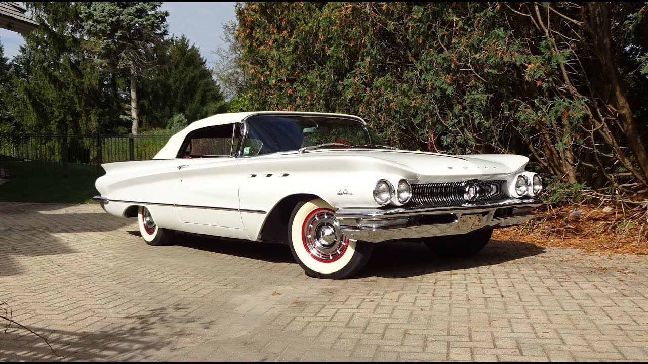 1960 Buick Lesabre Convertible In White Paint Amp Engine Sound On My Car Story With Lou Costabile
