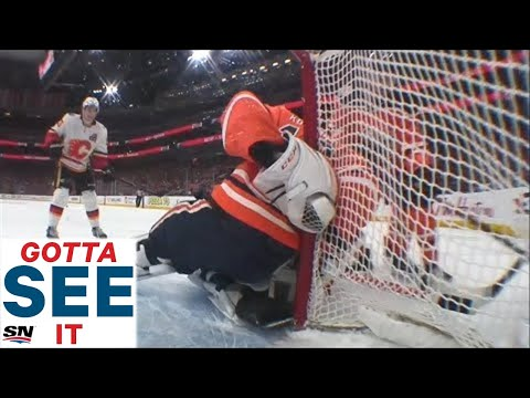 GOTTA SEE IT: Koskinen Makes Save-Of-The-Year Candidate Behind His Back