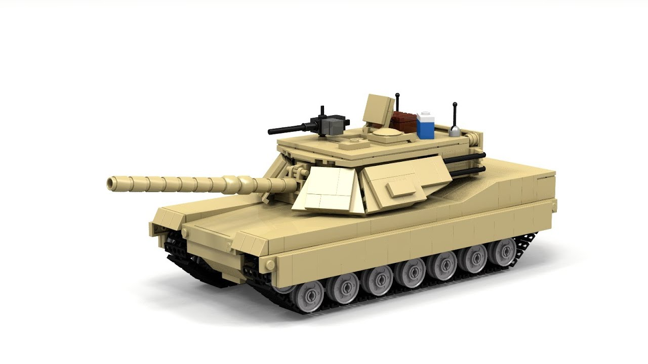 Lego M1a1 Abrams Instructions Youtube