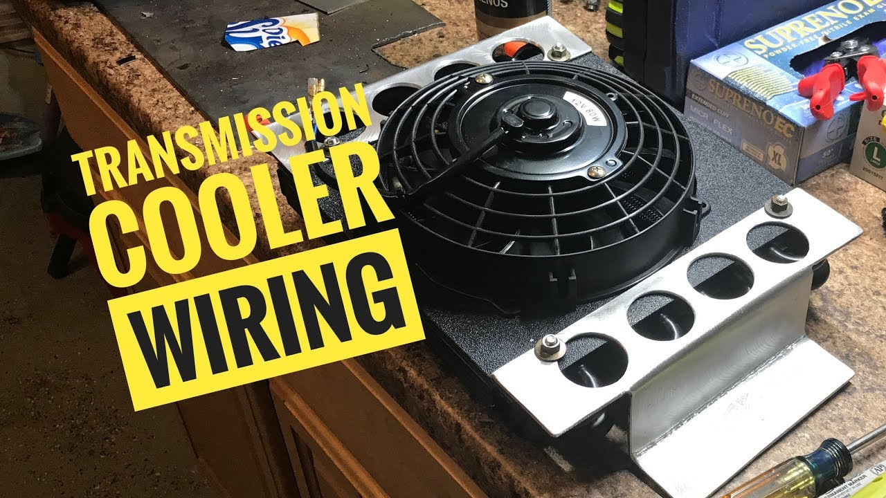 [NRIO_4796]   Do It Yourself Transmission Cooler and Wiring - YouTube | Derale Oil Cooler Wiring Diagram |  | YouTube