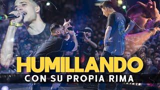 FUERON HUMILLADOS CON SU PROPIA RIMA | USARON LA RIMA DE SU RIVAL EN CONTRA  | BATALLA DE GALLOS