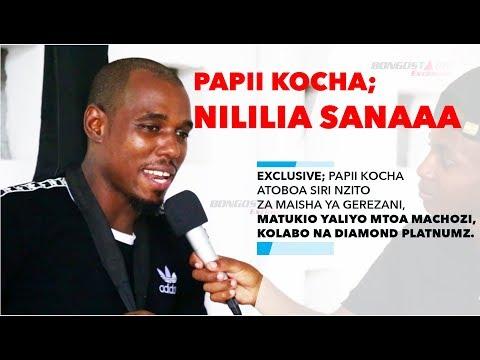 EXCLUSIVE: Papii Kocha Atoboa Siri Nzito za Gerezani, Kolabo na Diamond Platnamz