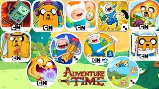 All Adventure Time Apps - (Video Game Evolution)