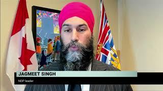 NDP Leader on pre-budget talks