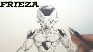 How To Draw FRIEZA - Dragonball Tutorial