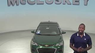 183882 New 2018 Chevrolet Sonic LT FWD 4D Sedan Green Test Drive, Review, For Sale -