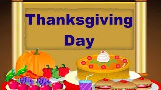 Thanksgiving Day Song | Nursery Rhymes and Songs For Children