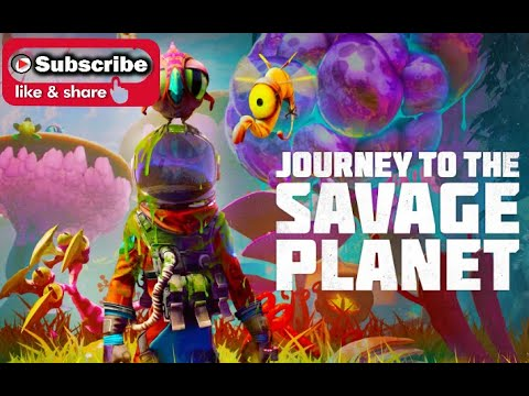 Journey To The Savage Planet First 15 minutes of gameplay @505_Games #JourneyToTheSavagePlanet |
