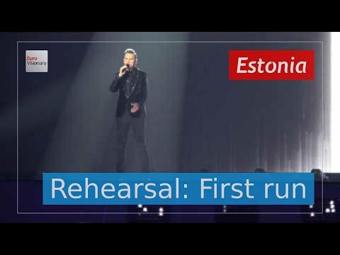 Koit Toome & Laura - Verona - Estonia - Live - Full Rehearsal - Eurovision Song Contest 2017 (4K)
