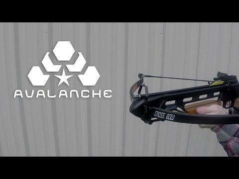 Avalanche Trailblazer Crossbow Wooden Stock 150-lb. - $99.99