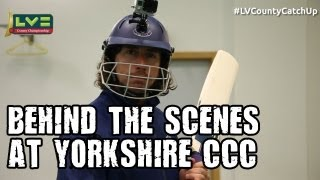Sidebottom at the home of Yorkshire CCC in the LV= County Catch Up