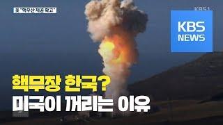 [앵커&리포트] 미국, 한국 핵무장 꺼리는 이유는?