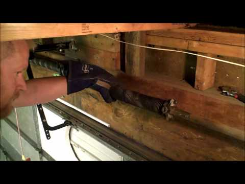 Garage Door Spring Temporary Fix