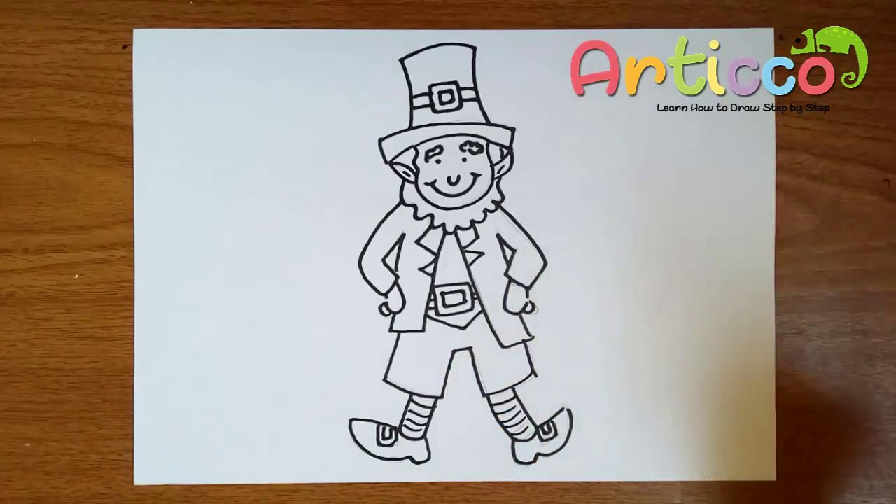 How to draw a leprechaun for kids youtube how to draw a leprechaun for kids ccuart Choice Image