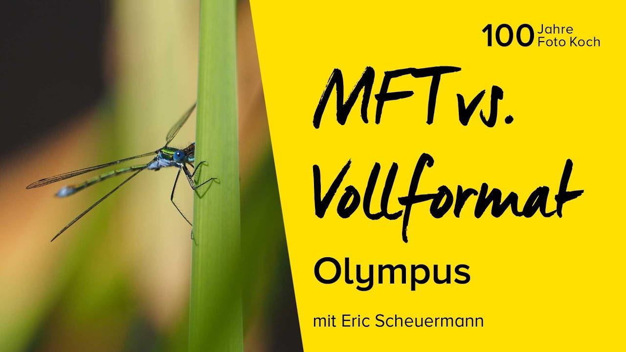 MFT vs. Vollformat - Olympus | Online Fototage Foto Koch