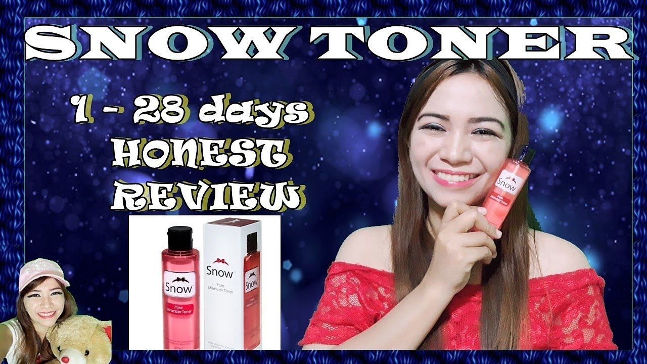 1 28 Days Snow Pore Minimizer Toner Honest Review Youtube
