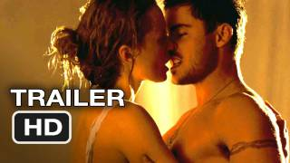 The Lucky One - Zac Efron and Taylor Schilling Love scene Good Quality!