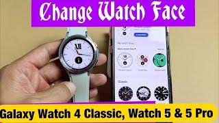Galaxy Watch 4 Classic: How to Change Watch Face (Clock Face) screenshot 5