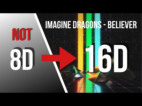 Imagine Dragons - Believer [16D AUDIO NOT 8D]