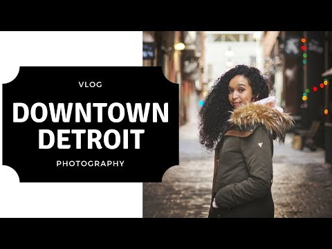 3 Hidden Gem Locations to Take Photos in Detroit pt 1   #JudeusIsThere VLOG