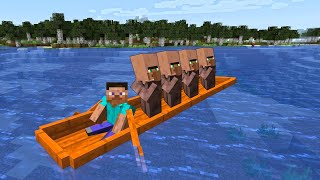 LONGEST BOAT YOU EVER SEEN IN MINCRAFT