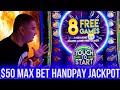 $50 Max Bet HANDPAY JACKPOT On Cash Burst Slot | Jackpot WINNER | SE-1 | EP-18