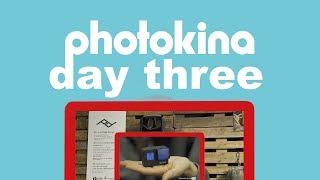 Photokina 2018 Day Three (GoPro Hero 7, Peak Design Travel Backpack, TetherTools D-Tap to AC)