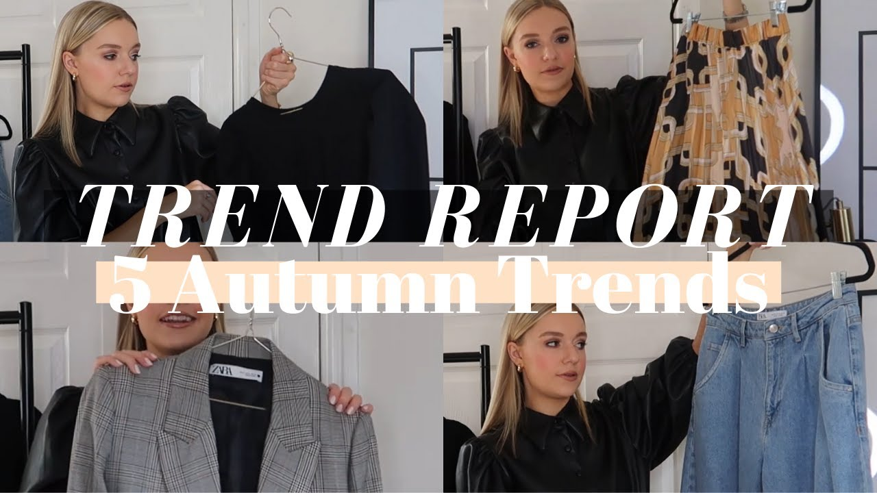 AUTUMN TRENDS | 5 KEY AUTUMN TRENDS, 10 DIFFERENT OUTFITS | LYDIA TOMLINSON