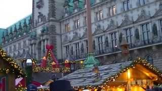 Жизнь в Германии. Гамбург перед  Рождеством.(23декабря 2013года в Гамбурге., 2013-12-25T17:44:17.000Z)