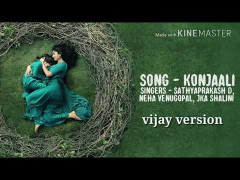 Diya-----Konjali song ----vijay version