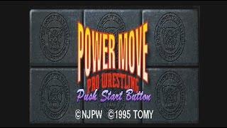 neXGam plays Power Move Pro Wrestling (Playstation)