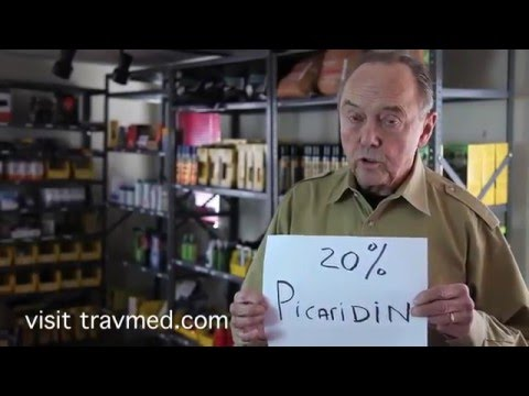 Travel Medicine - DEET, the first line of defense against insect bites. (Part 2 of 3)