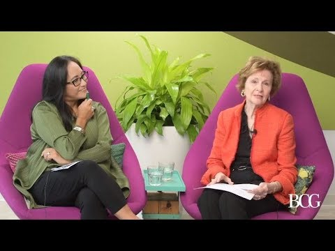 A Conversation With BCG's First Female Consultant