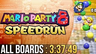 Mario Party 8 All Boards Speedrun in 3:37:49 (Very Hard)