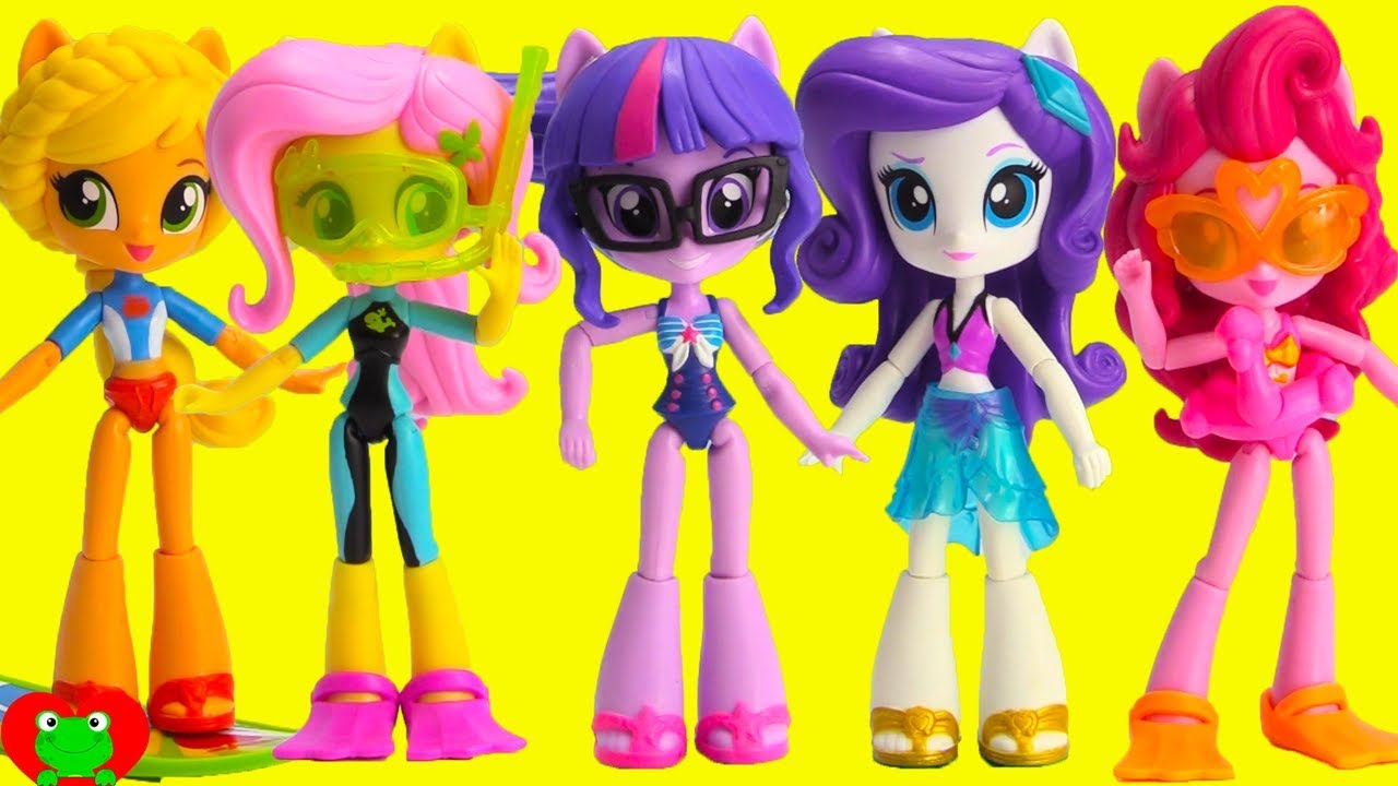 My Little Pony Equestria Girls Summer Vacation Swimsuit Beach
