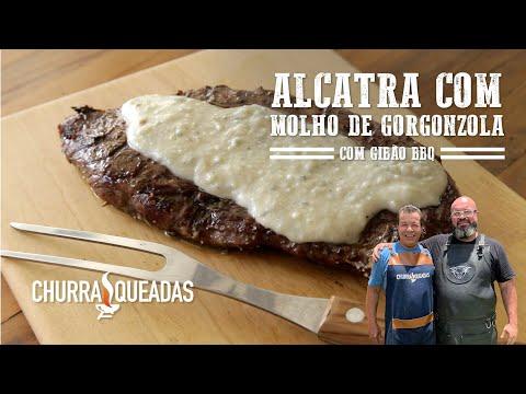 Alcatra com molho de gorgonzola (Part. Gibão BBQ) I Churrasqueadas