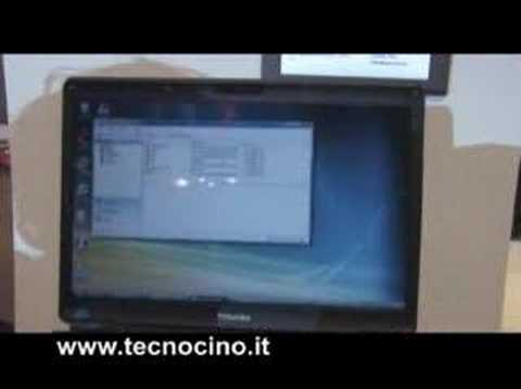 Video Toshiba G450 - test e prova al MWC 2008