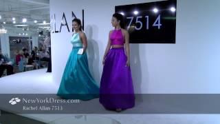 Rachel Allan 7513 Dress - NewYorkDress.com