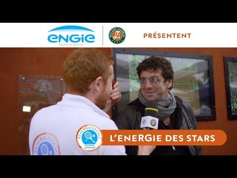 L'éneRGie des stars #9 – Interview pluvieuse, interview heureuse ! – Roland-Garros 2016