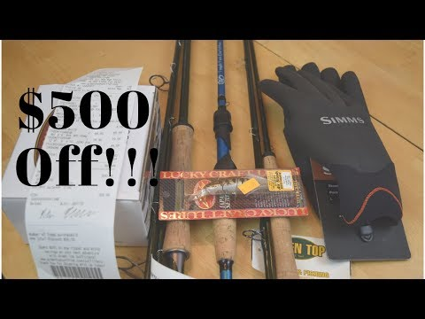 I SAVED Over 500$ On Fishing Gear On BLACK FRIDAY (CRAZY DEALS!)