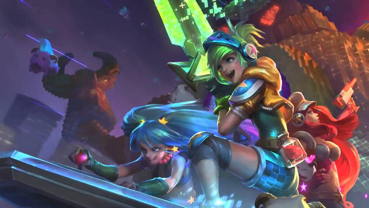 Arcade miss fortune league of legends - 1 10