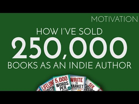 How I've Sold 250,000 Books As An Indie Author