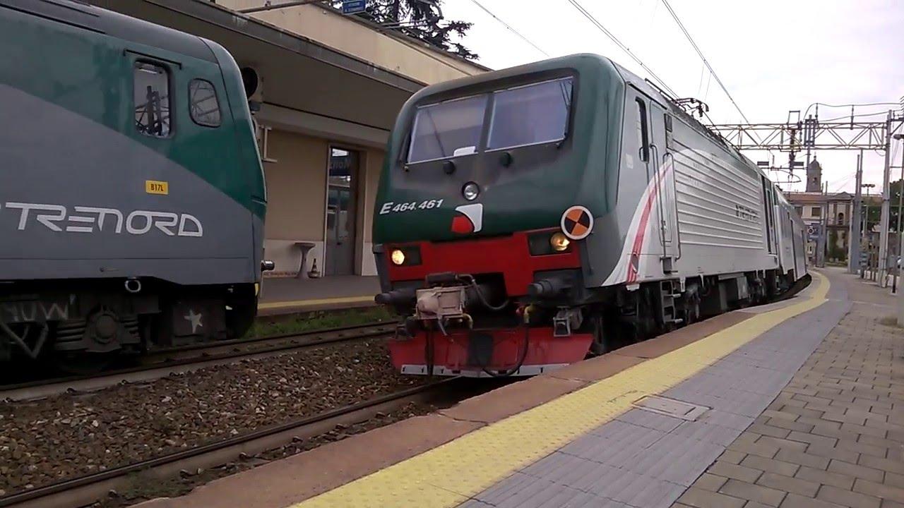 Treni a monza e464 461 8 piano ribassato trenord 02 05 - Trenord porta garibaldi ...