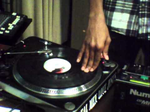 DJ Civil Rightz scratching@Oral Roberts University Jam Fest