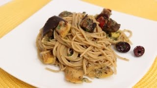 Spaghetti With Roasted Veggies - Laura Vitale - Laura In The Kitchen Episode 642