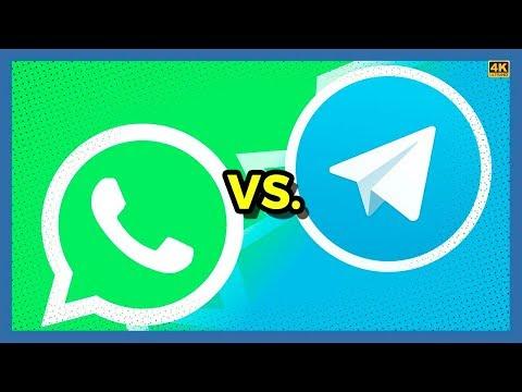 WhatsApp vs Telegram en 2018  ¿Cuál es la mejor aplicación de mensajería?