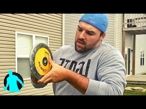 How To Grip Hold & Release The Discus