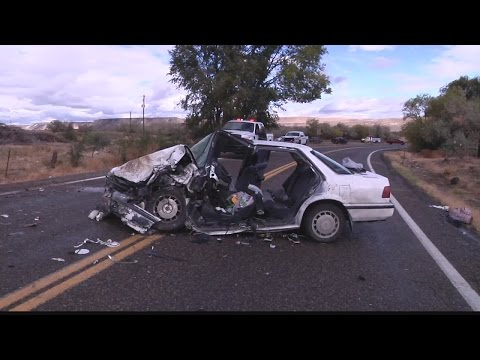 Two injured in collision in Owyhee County