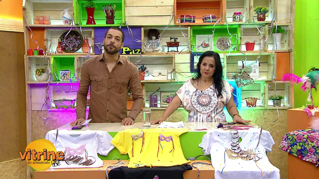 Armario Roupeiro De Aço ~ Camiseta Customizada com Deize Costa Vitrine do Artesanato na TV YouTube